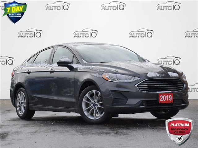 2019 Ford Fusion Hybrid SE Grey