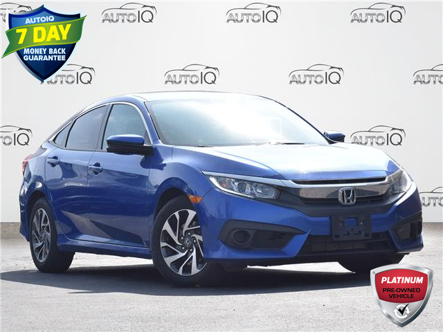 2017 Honda Civic EX (Stk: P1075) in Waterloo - Image 1 of 13