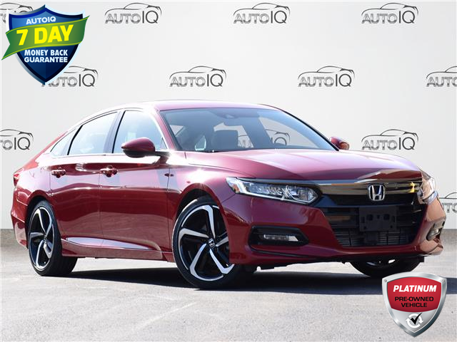 2019 Honda Accord Sport 1.5T (Stk: MEC484A) in Waterloo - Image 1 of 18