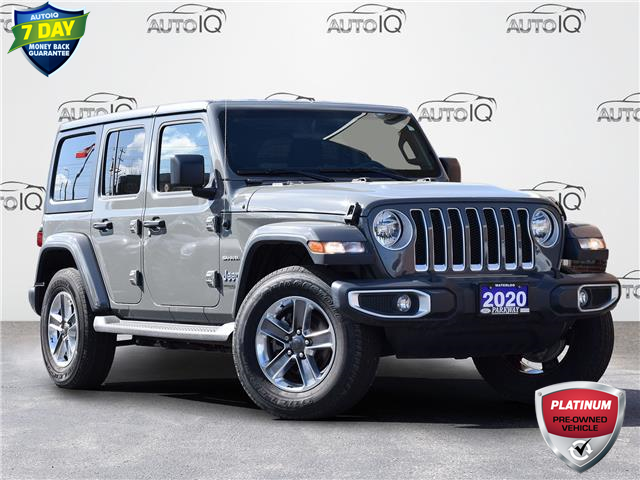 2020 Jeep Wrangler Unlimited Sahara (Stk: LP1095B) in Waterloo - Image 1 of 18