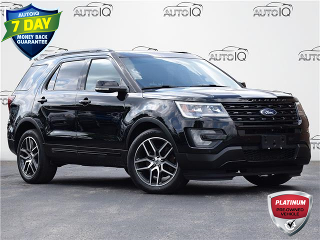 2017 Ford Explorer Sport (Stk: XC585A) in Waterloo - Image 1 of 29