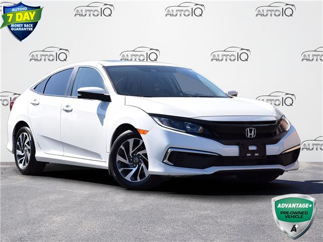 2020 Honda Civic EX White