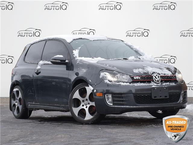 2010 Volkswagen Golf GTI 3-Door Black