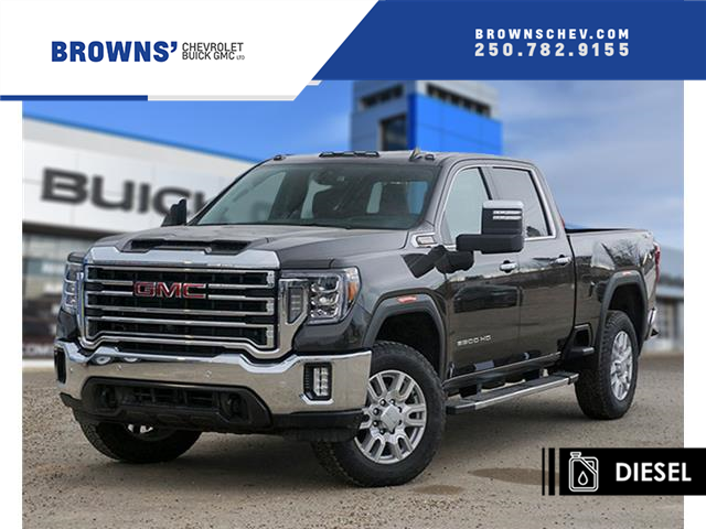 2020 GMC Sierra 3500HD SLT (Stk: T20-841) in Dawson Creek - Image 1 of 18