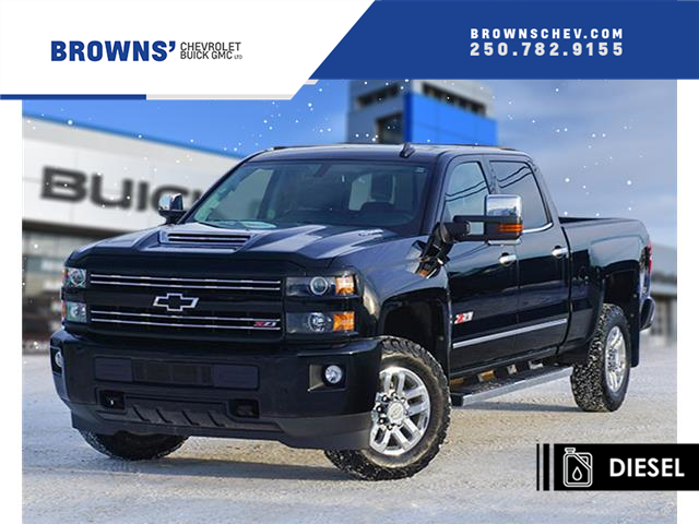 2019 Chevrolet Silverado 3500HD LTZ (Stk: 4415A) in Dawson Creek - Image 1 of 17
