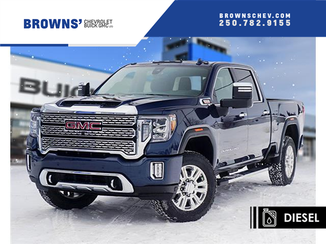 2020 GMC Sierra 3500HD Denali (Stk: T20-1032) in Dawson Creek - Image 1 of 17