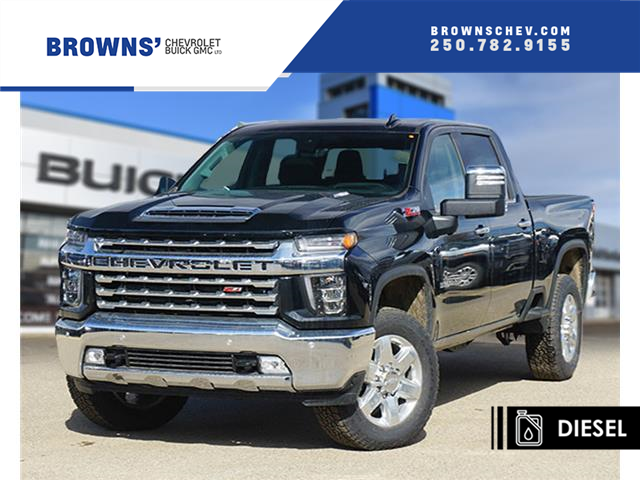 2020 Chevrolet Silverado 3500HD LTZ (Stk: T20-1047) in Dawson Creek - Image 1 of 16