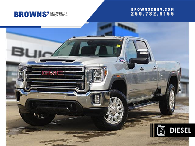 2020 GMC Sierra 3500HD SLT (Stk: T20-1026) in Dawson Creek - Image 1 of 14
