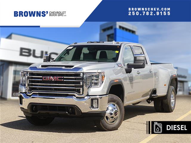 2020 GMC Sierra 3500HD SLT (Stk: T20-1386) in Dawson Creek - Image 1 of 15