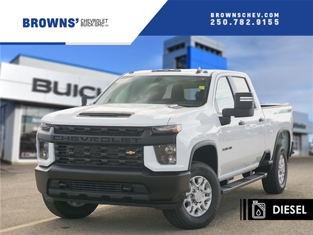 2020 Chevrolet Silverado 3500HD Work Truck (Stk: T20-1364) in Dawson Creek - Image 1 of 15