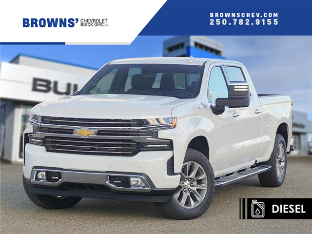 2020 Chevrolet Silverado 1500 High Country (Stk: T20-1533) in Dawson Creek - Image 1 of 14
