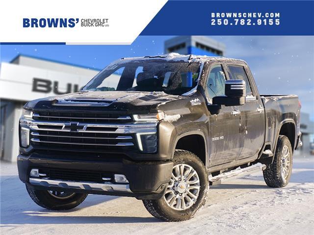 2021 Chevrolet Silverado 3500HD High Country (Stk: T21-1647) in Dawson Creek - Image 1 of 13