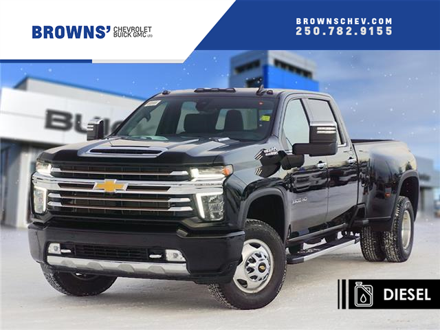 2021 Chevrolet Silverado 3500HD High Country (Stk: T21-1649) in Dawson Creek - Image 1 of 16