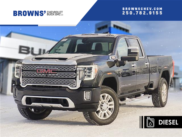 2021 GMC Sierra 3500HD Denali (Stk: T21-1659) in Dawson Creek - Image 1 of 15