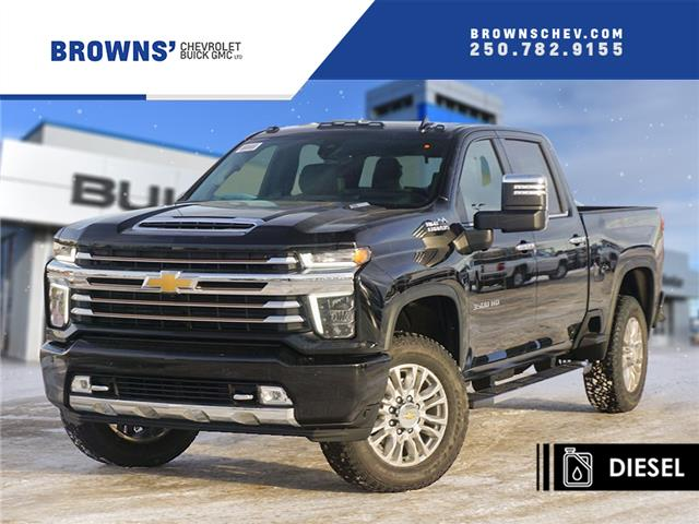 2021 Chevrolet Silverado 3500HD High Country (Stk: T21-1646) in Dawson Creek - Image 1 of 15