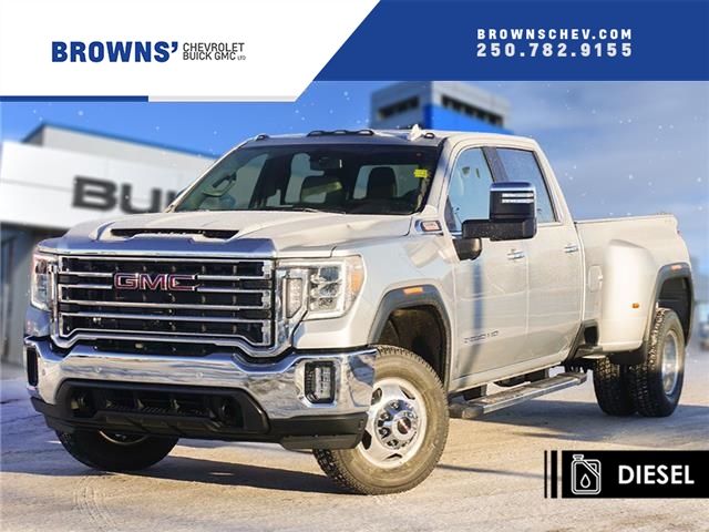2021 GMC Sierra 3500HD SLT (Stk: T21-1685) in Dawson Creek - Image 1 of 15