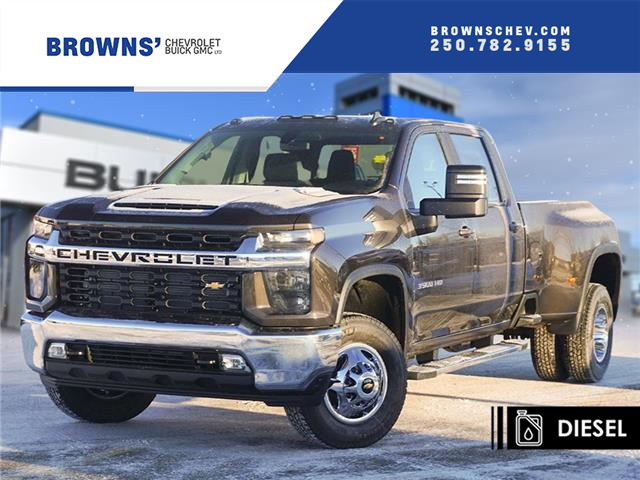 2021 Chevrolet Silverado 3500HD LT (Stk: T21-1686) in Dawson Creek - Image 1 of 15