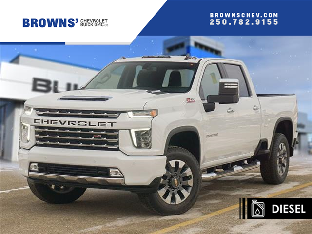 2021 Chevrolet Silverado 3500HD LT (Stk: T21-1697) in Dawson Creek - Image 1 of 15