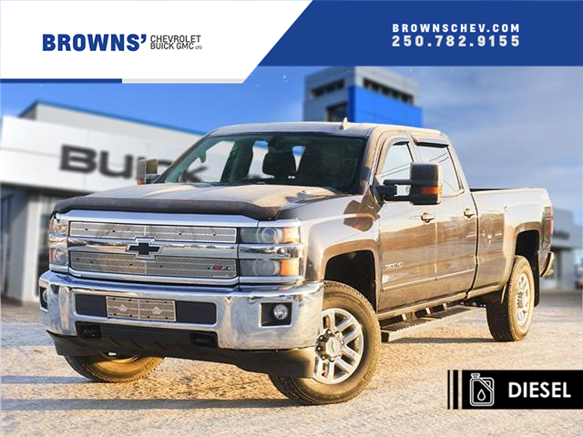 2016 Chevrolet Silverado 3500HD LT (Stk: T21-1657A) in Dawson Creek - Image 1 of 15