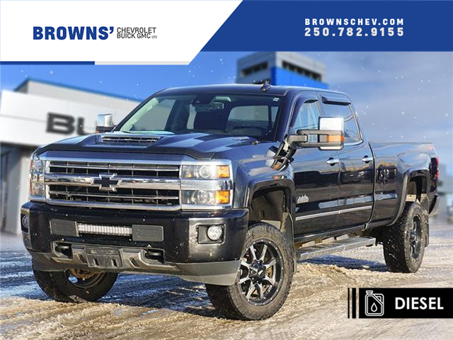 2019 Chevrolet Silverado 3500HD High Country (Stk: T21-1753A) in Dawson Creek - Image 1 of 15