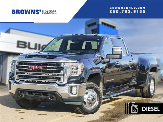 2020 GMC Sierra 3500HD SLT (Stk: 4629A) in Dawson Creek - Image 1 of 15