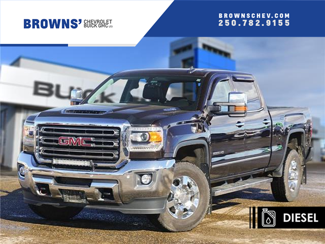 2018 GMC Sierra 3500HD SLT (Stk: T21-1812A) in Dawson Creek - Image 1 of 14