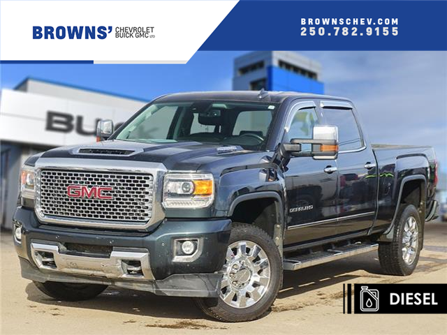 2017 GMC Sierra 2500HD Denali (Stk: T21-1705A) in Dawson Creek - Image 1 of 15