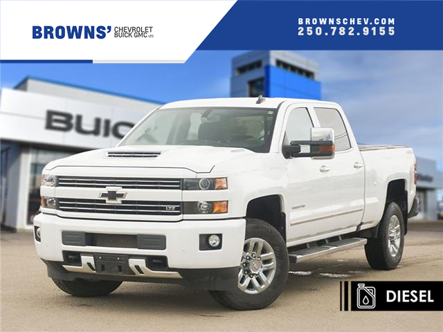2019 Chevrolet Silverado 3500HD LTZ (Stk: 4666A) in Dawson Creek - Image 1 of 15
