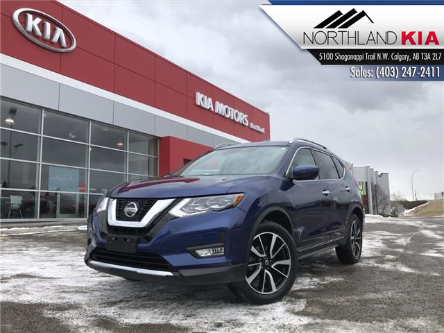 2018 Nissan Rogue SL w/ProPILOT Assist (Stk: P0487) in Calgary - Image 1 of 23