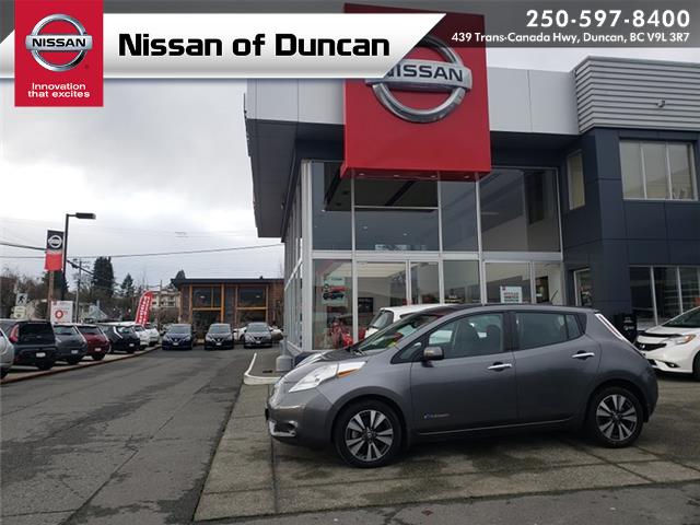2017 Nissan LEAF SV (Stk: P0136) in Duncan - Image 1 of 11