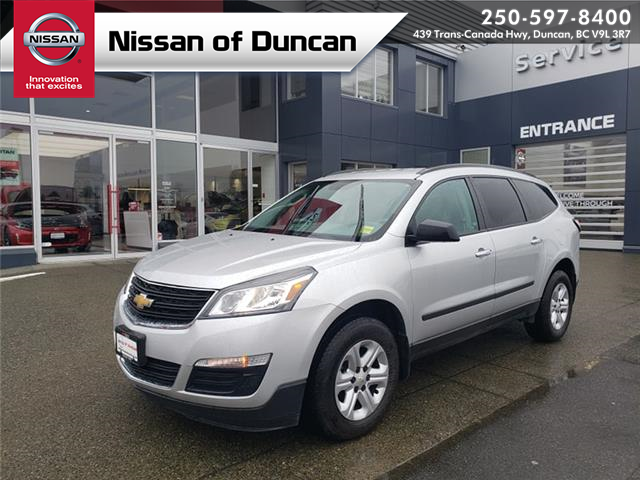 2017 Chevrolet Traverse LS (Stk: 9R1216A) in Duncan - Image 1 of 12