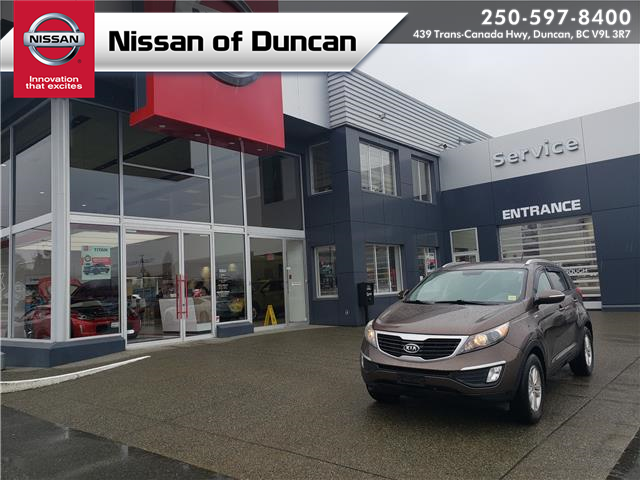 2012 Kia Sportage LX (Stk: 9K0585A) in Duncan - Image 1 of 12