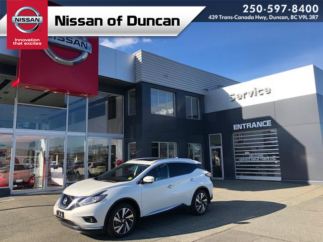 2015 Nissan Murano Platinum (Stk: 20M8528A) in Duncan - Image 1 of 15
