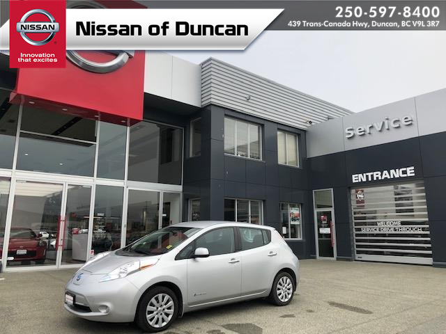 2017 Nissan LEAF S (Stk: P0131) in Duncan - Image 1 of 19