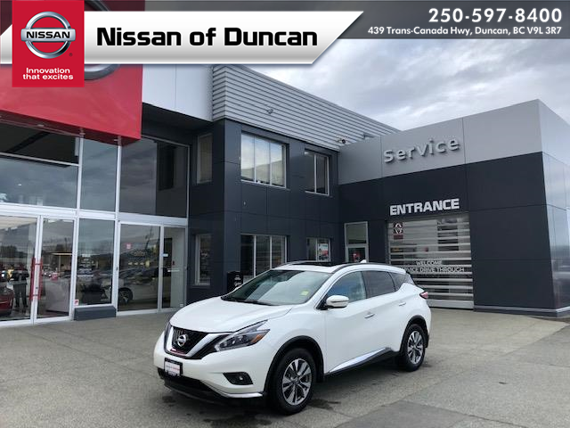 2018 Nissan Murano SL (Stk: P0122) in Duncan - Image 1 of 18
