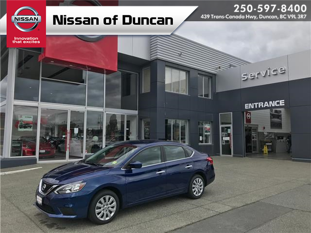 2019 Nissan Sentra 1.8 S (Stk: 20S9134A) in Duncan - Image 1 of 28
