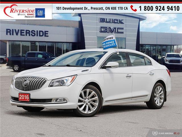 2016 Buick LaCrosse Leather (Stk: Z19138A) in Prescott - Image 1 of 28