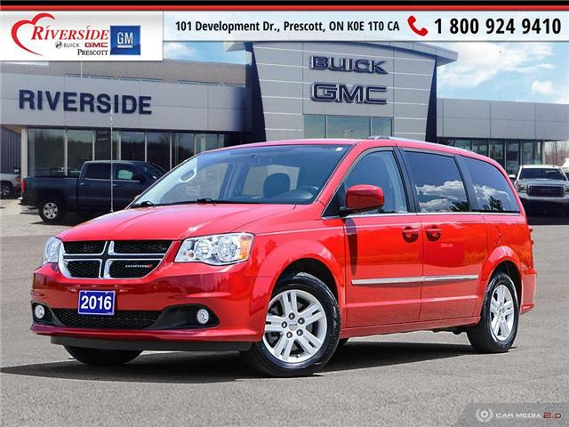 2016 Dodge Grand Caravan Crew (Stk: 20094A2) in Prescott - Image 1 of 26