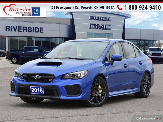 2018 Subaru WRX STI Sport-tech w/Wing (Stk: 4200A) in Prescott - Image 1 of 30