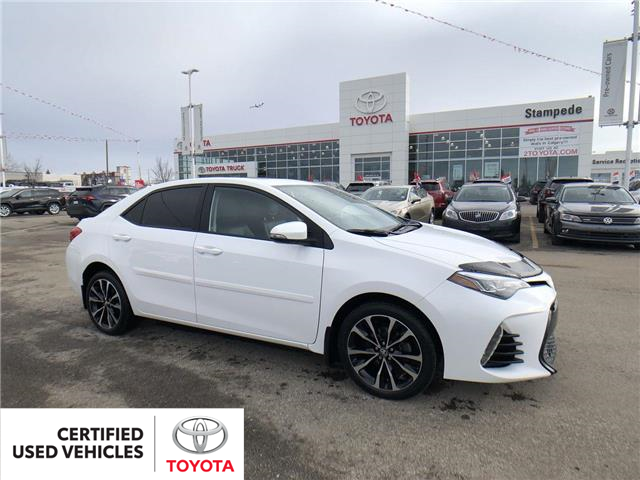 2017 Toyota Corolla SE (Stk: 9014A) in Calgary - Image 1 of 27