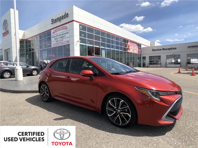 2019 Toyota Corolla Hatchback Base (Stk: 200208A) in Calgary - Image 1 of 24
