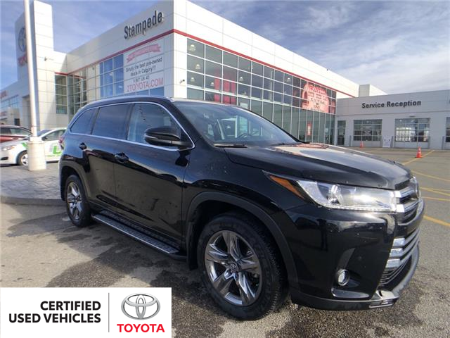 2019 Toyota Highlander Limited (Stk: 210099A) in Calgary - Image 1 of 12