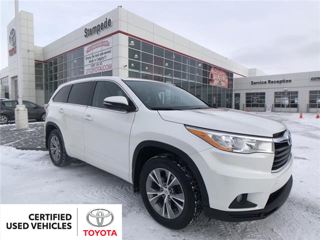 2014 Toyota Highlander LE (Stk: 201084A) in Calgary - Image 1 of 21