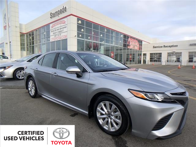 2019 Toyota Camry SE (Stk: 9264A) in Calgary - Image 1 of 20