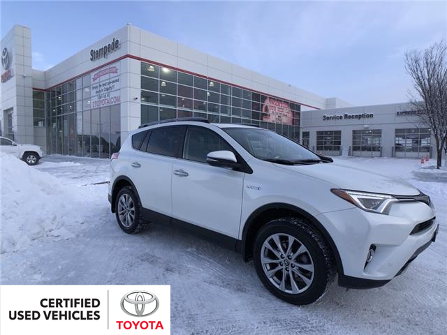 2017 Toyota RAV4 Hybrid Limited (Stk: 9308A) in Calgary - Image 1 of 23