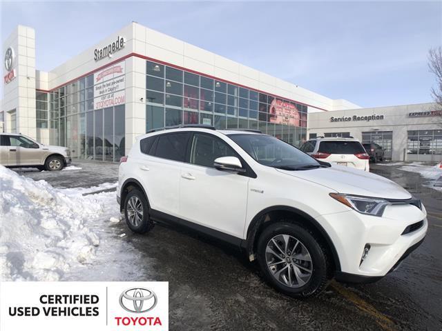 2017 Toyota RAV4 Hybrid LE+ (Stk: 9293A) in Calgary - Image 1 of 23