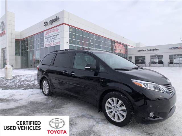 2017 Toyota Sienna XLE 7 Passenger (Stk: 210281A) in Calgary - Image 1 of 27