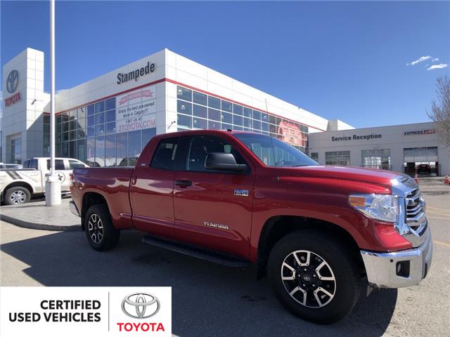 2017 Toyota Tundra SR5 Plus 5.7L V8 (Stk: 9435A) in Calgary - Image 1 of 13