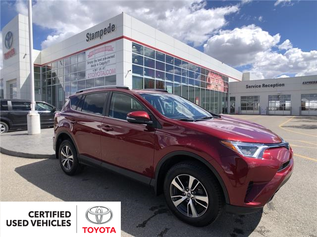 2018 Toyota RAV4 LE (Stk: 210565A) in Calgary - Image 1 of 23