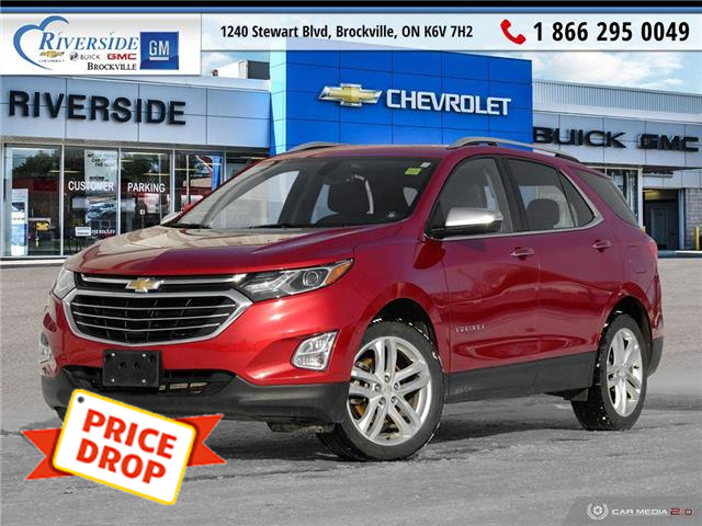 2018 Chevrolet Equinox Premier (Stk: PR1555) in Brockville - Image 1 of 27